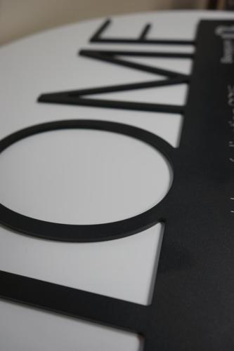 lettres en aluminium
