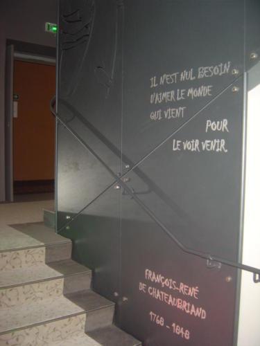 hotel Le Chataubriand st malo gravure