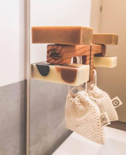 Porte savon magnétique version double - Déco'smétique