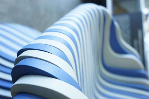 découpe fauteuil design